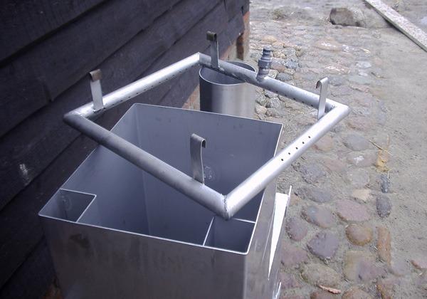 Kachel Frame voor Houten Buitenbad