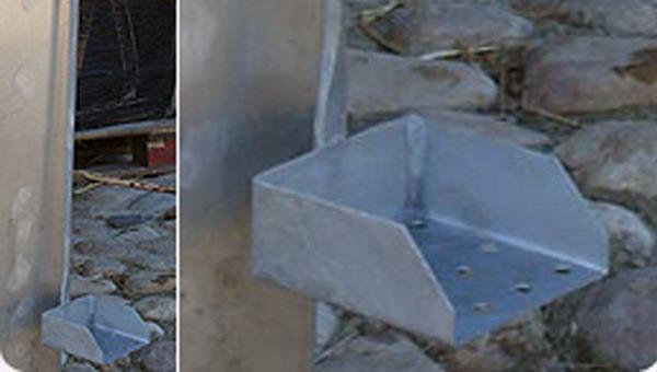 Detailfoto hottub frame