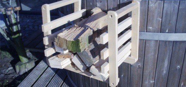 Stookhout voor hottub