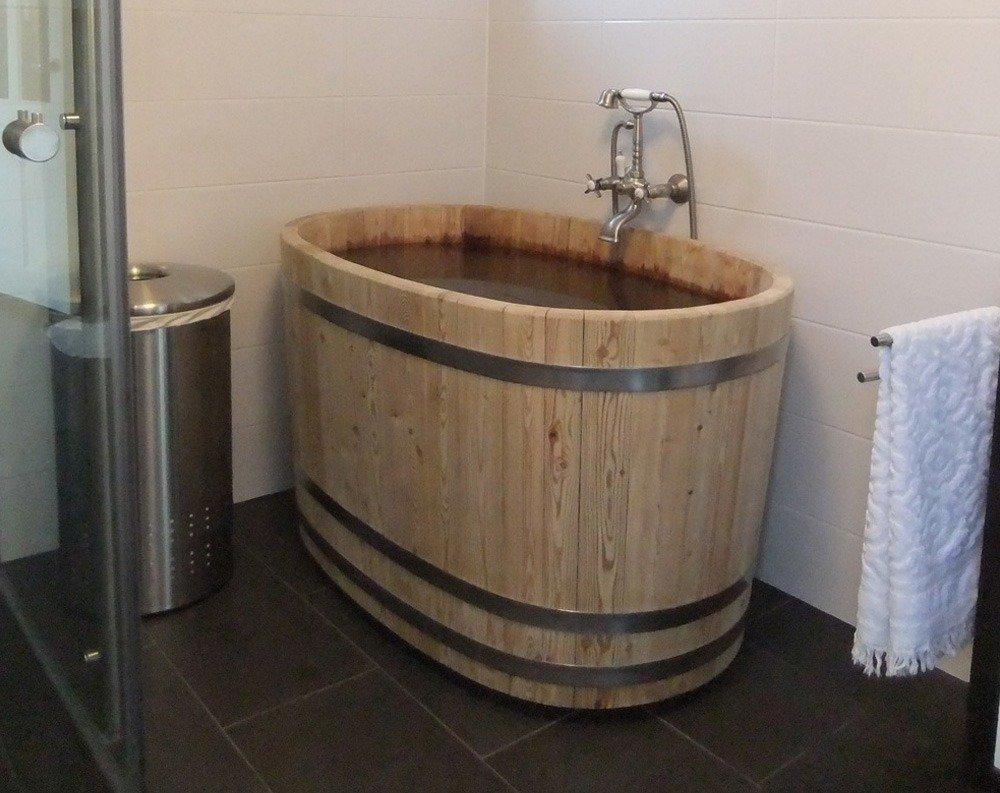 Binnenbad van hout