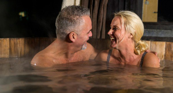 Romantiek in de hottub